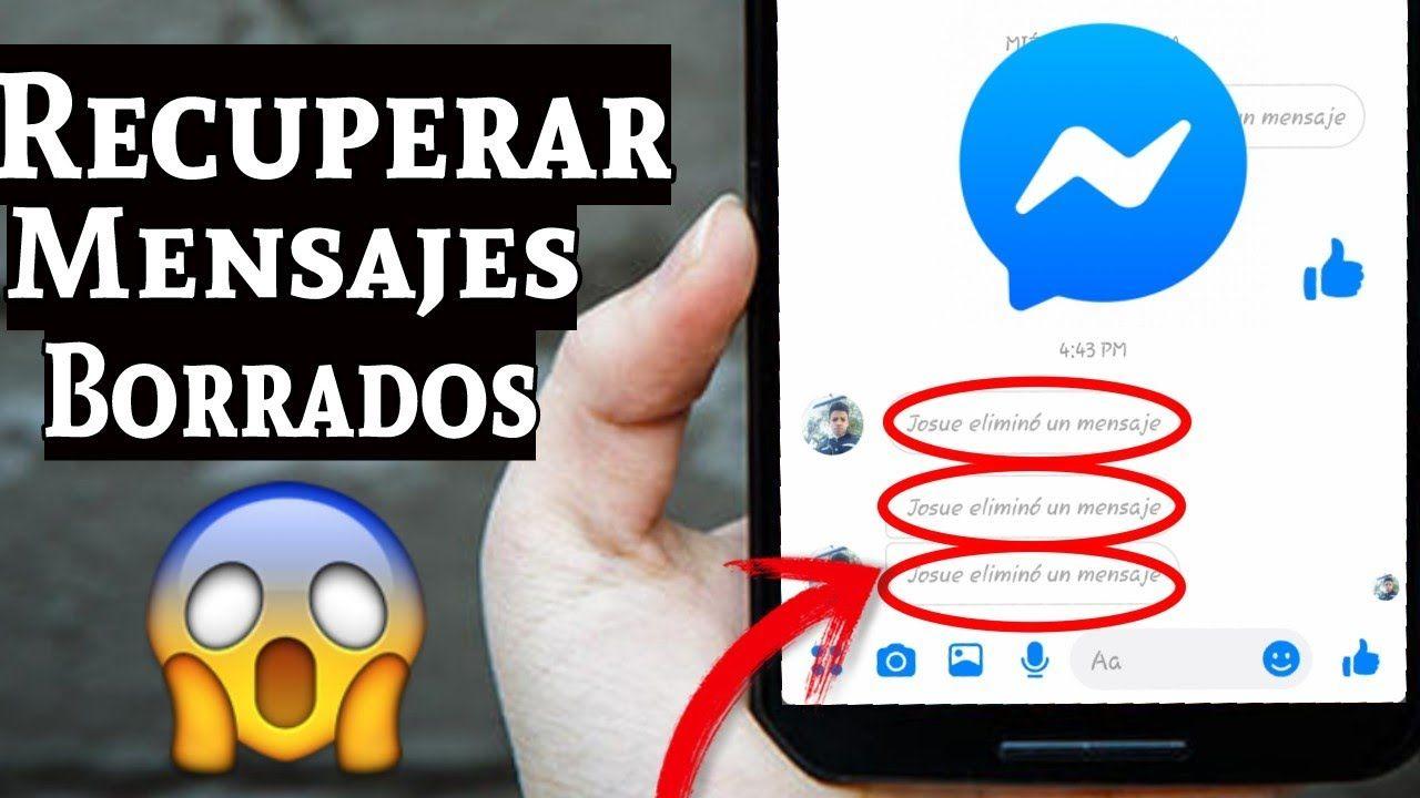 Como Recuperar Conversaciones de Facebook Messenger que Fueron Eliminadas 2021